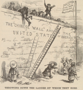 Analyzing Anti-Immigrant Attitudes in Political Cartoons