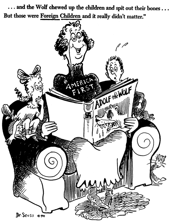 Understanding Dr  Seuss' Depictions of the 'Other' in his Political